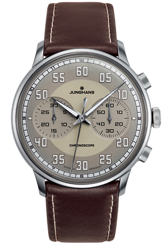 Junghans Meister Driver Sand Colored Dial Watch 027/3684.00
