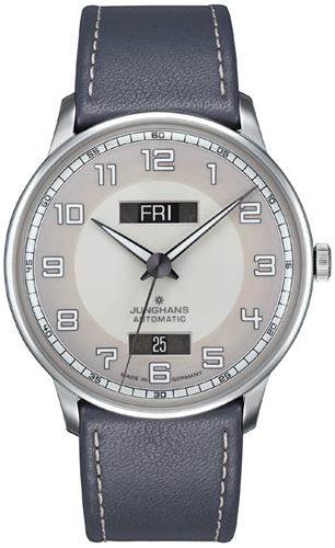 Junghans Meister Driver Day Date Watch 027/4720.01