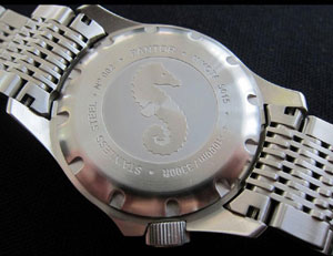 Pantor Seahorse Steel Bezel Automatic Dive Watch #6