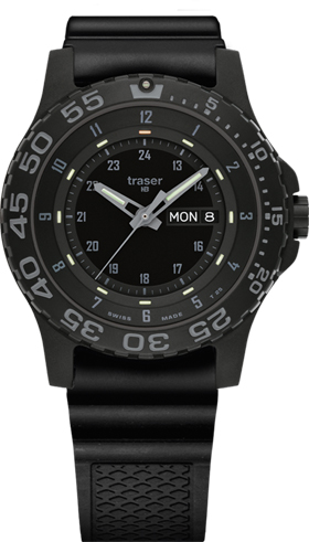 Traser H3 P6600 Military Type 6 Shade Tritium Watch