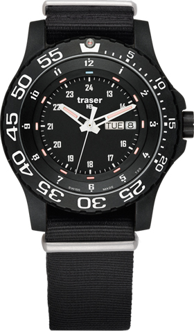 Traser H3 P6600 Military Elite Red Tritium Watch