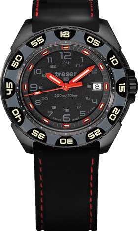 Traser P49 Red Alert T100 Watch
