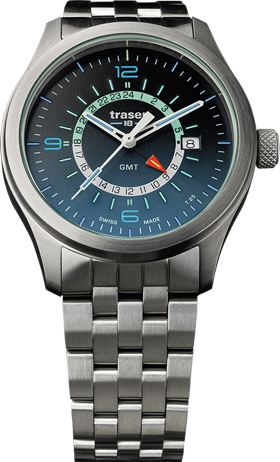Traser P59 Aurora GMT Blue Watch
