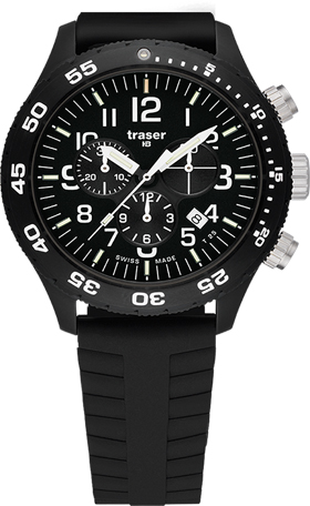 Traser H3 P6704 Officer Pro Chronograph Watch
