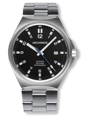 Archimede Outdoor 41 Antimag Automatic Watch with Bracelet UA8241B-A1
