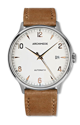 Archimede 1950-2 BIC Silver Dial Automatic Watch UA8068S-A2.2-BIC