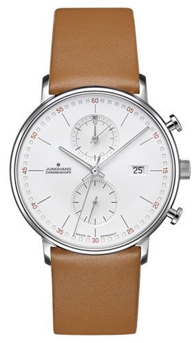 Junghans Form C Silver Dial Chronograph Watch 041/4774.00