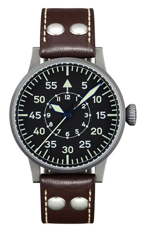Laco Dortmund Original Type B 45 mm Hand Wound Pilot Watch 861751