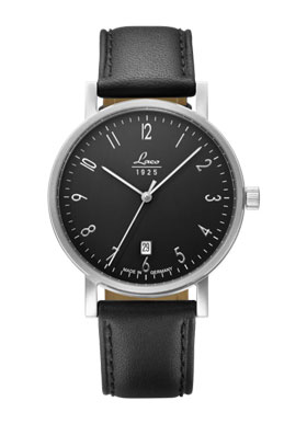 Laco Jena Classic Bauhaus Dark Gray Dial Automatic Watch