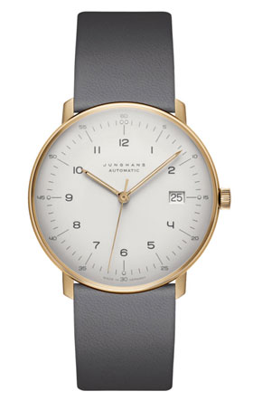 Junghans Max Bill Soft Gold Automatic Watch 027/7805.00