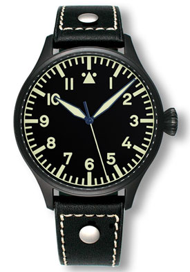 Archimede Pilot 39 H Black Automatic Watch UA7969-A4.1SW