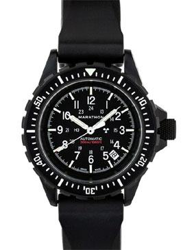 Marathon gsar black automatic tritium dive watch marathon watches marathon ww194006bk ngm for Tritium dive watches
