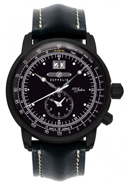 Graf Zeppelin Dual Time Black Watch 7638-2