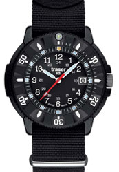 Traser H3 P6508 Military Type 6 Code Blue Tritium Watch