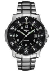 Traser H3 P6502 Stainless Steel Navigator Tritium Watch