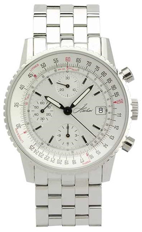 Hacher Aviateur Automatic Chronograph Flight Computer Watch