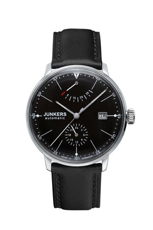Junkers Bauhaus Power Reserve Automatic  Watch 6060-2