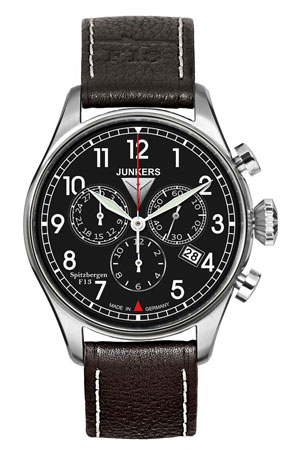 Junkers F13 Chronograph Watch 6186-2
