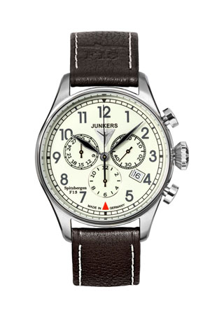 Junkers F13 Chronograph Watch 6186-5