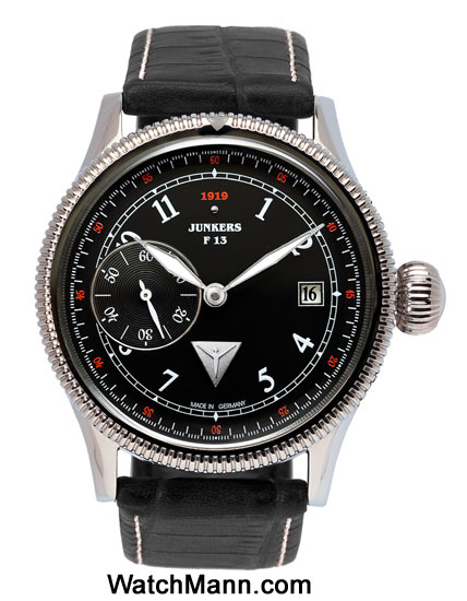 Junkers F13 Mechanical Hand Wound Watch 6538-2