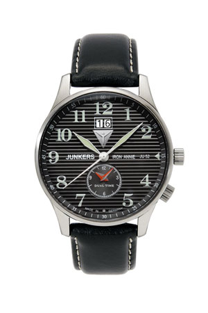 Junkers Big Date GMT Watch 6640-2