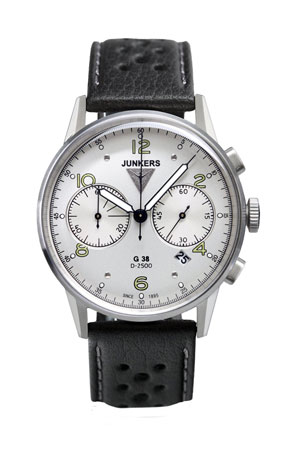 Junkers G38 Chronograph Watch 6984-4