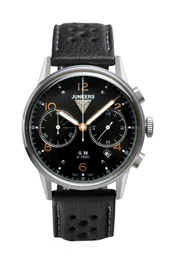 1b657e4a3de Junkers G38 Chronograph Watch 6984-5, Junkers Watches, 69845 WatchMann.com