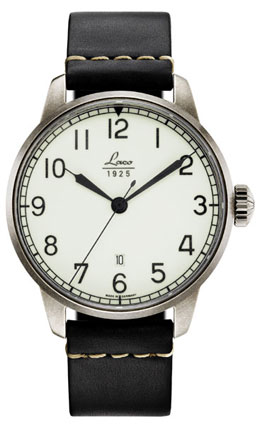 Laco Mailand 36 Automatic Navy Watch