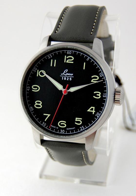e825178ef3a Laco Classic 42 Black Dial Automatic Watch