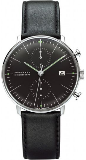 Junghans Max Bill Chronoscope Automatic Chronograph Watch 027/4601.00
