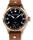 Archimede KS 42 Hand Wound Bronze Pilot Watch UA7929-H2.5-BR