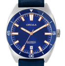Circula AquaSport Dark Blue Retro Automatic Dive Watch