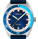 Circula AquaSport Blue/White Retro Automatic Dive Watch