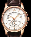 Atlantic Seaport Retrograde White Dial Chronograph Dress Watch 56450-44-21