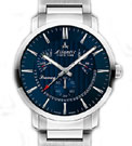 Atlantic Seaway Dark Blue Dial Perpetual Date Dress Watch