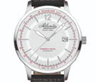 Atlantic Speedway Royal Silver Dial Automatic Watch
