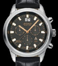 Atlantic Seacloud 100M Black Dial Chronograph Watch 73460.41.61R