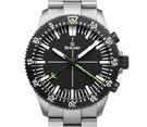 Damasko DC80 Green Bicolour Automatic Chronograph Watch with Ice Hardened Bracelet
