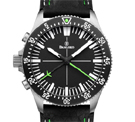 Damasko DC80 Left Handed Version Green Automatic Chronograph Watch