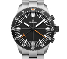 Damasko DC80 Orange Bicolour Automatic Chronograph Watch with Ice Hardened Bracelet