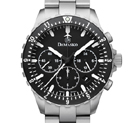 Damasko DC86 Chronograph Watch with Ice Hardened Bracelet