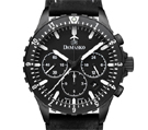 Damasko DC86 Black Chronograph Watch