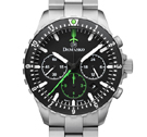 Damasko DC86 Green Chronograph Watch with Ice Hardened Bracelet