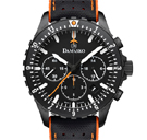 Damasko DC86 Orange Black Chronograph Watch
