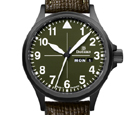 Damasko DH2.0 Black Hunting and Outdoor Automatic Watch