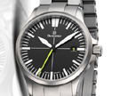 Damasko DS30 with Bracelet Submarine Steel Automatic Watch with Yellow Hand