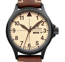 Damasko DA20 Vintage Black Automatic Watch