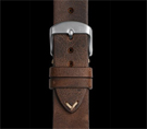 Damasko 20mm Leather Strap Vintage Mocha