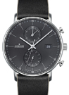 Junghans Form C Chronoscope Quartz Matt Anthracite Dial Watch 041/4876.00
