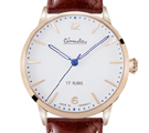 Circula Heritage Hand-Wound Redgold Watch